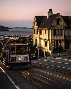 Powell & Market a beautiful ride in San Francisco by Jeremiah Gregory by photoblog.sanfranciscofeelings.com sanfrancisco sf bayarea alwayssf goldengatebridge goldengate alcatraz california