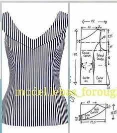 Blazer spencer sem gola diy molde corte e costura marlene mukai taika salvabrani… Dress Sewing Patterns, Blouse Patterns, Sewing Patterns Free, Clothing Patterns, Blouse Designs, Fabric Sewing, Free Sewing, Clothing Items, Costura Fashion