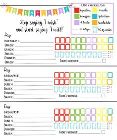 21 day fitness logging system bundle tracking sheet beach body 2100 calorie bracket easy to use 21 day planner shopping list more