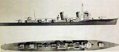 IJN Destroyer Shinonome 1938