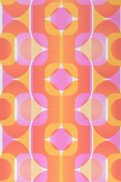 New pattern wallpaper vintage retro Ideas 60s Patterns, Vintage Patterns, Textures Patterns, Print Patterns, Pattern Print, Red Pattern, Retro Background, Background Patterns, Yellow Background