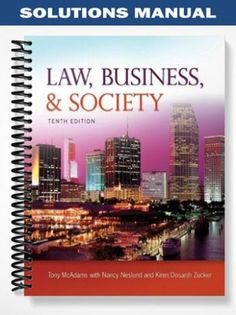 Solutions manual for auditing cases an interactive learning solutions manual for law business and society 10th edition by mcadams fandeluxe Gallery
