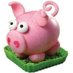 pig hard boiled egg.
