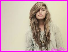 cool Long layered haircuts with side bangs