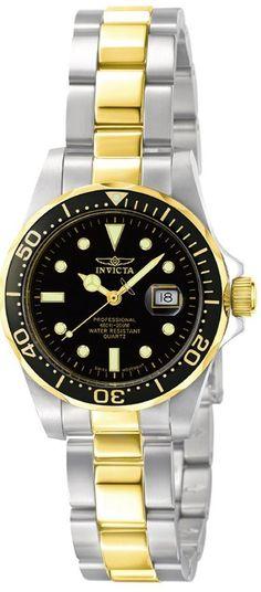 Invicta Women's #4867 Pro Diver Collection Swiss Quartz Watch