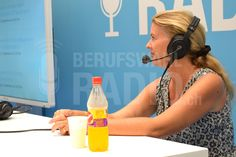 Sandrine Gostanian (Mitgründerin Kindercity) bei uns zu Gast an unserem Berufswahlradio.ch-Stand!