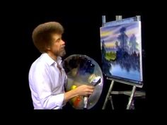 The Joy of Painting - Bob Ross Season 7 Playlist : The Joy of Painting is an American half-hour instructional television show hosted by Acrylic Painting Techniques, Painting Lessons, Art Lessons, Acrylic Paintings, Acrylic Art, Bob Ross Paintings, Easy Paintings, Acrylic Tutorials, Art Tutorials