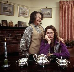 Eric Clapton with his mum