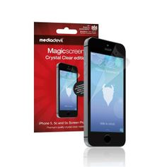 MediaDevil Magicscreen Screen Protector: Crystal Clear (Invisible)