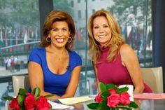 Kathie Lee Gifford & Hoda Kotb. Morning wake up call.