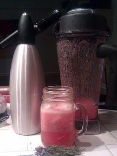 Roxy #10:Rosemary-raspberry-agave fizzy lemonade! by vikramsurya, via Flickr
