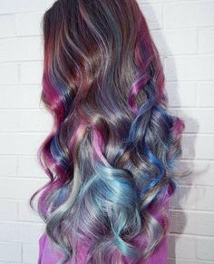 Super Cool Color Hairstyles Ideas In 2019 Guy Tang Hair, Pulp Riot Hair Color, Rainbow Hair, Color Inspiration, Salons, Cool Hairstyles, Stylists, Long Hair Styles, Instagram Posts