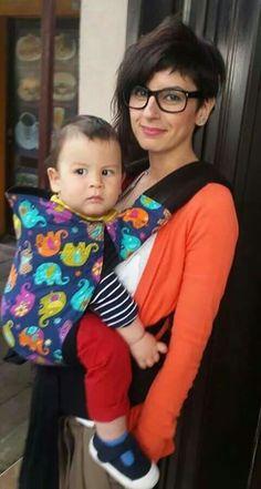 confortable and colorfull ♡babywearing Babywearing, Board, Style, Fashion, Moda, La Mode, Baby Slings, Fasion, Sign