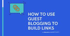 Learn how to secure quality links thanks to regularly contributing to blogs in your niche.  #contentmarketing #contentstrategy #SEO #SearchEngineOptimization #DigitalMarketing Business Marketing, Content Marketing, Digital Marketing, It Gets Better, Ask For Help, Search Engine Optimization, Being Used, Investing, Blogging