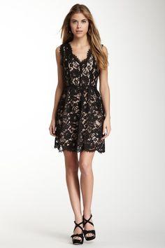 Madison Marcus Scalloped Lace Dress by Madison Marcus on @HauteLook