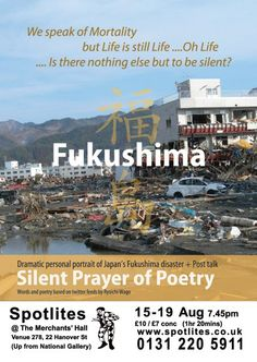 Listing of 'Fukushima- A Silent Prayer of Poetry' on The East http://www.theeast.org/?p=210401