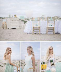 A turquoise, seaside bridal shower with Martha Celebrations! #SomethingTurquoise #LetsCelebrate (photo by: http://studioelevenweddings.com/)