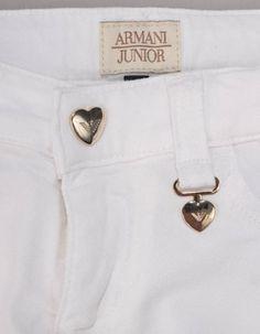 Buy Armani Junior at Accent Clothing, luxury stockist of Armani Junior. Gold Logo, White Gold, Denim, Jeans, Girls, Clothing, Stuff To Buy, Fashion, Toddler Girls