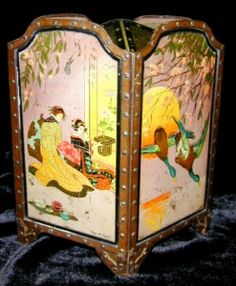 Biscuit Tin - Huntley & Palmers ''screen''.