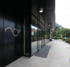 Noir in Piatra Neamt by Nuca Visual Merchandising, Branding, Design Furniture, Design Agency, Store Design, Romania, Doors, Architecture, Restaurant