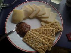 Κράκερ με τυρί