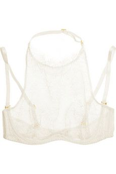 Agent Provocateur Annoushka lace underwired bra | NET-A-PORTER