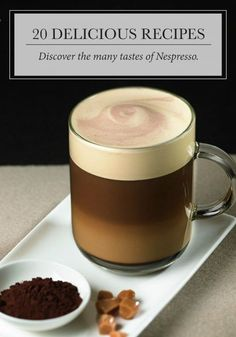 Embrace the sweeter side of life with one of these indulgent coffee creations from Nespresso Vertuoline. Click to discover the drink recipe you've been searching for!