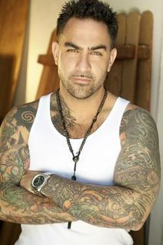 Chris Nunez...Bad boy tattoo artist...mmm