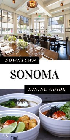 Splitting my time between Wine Country (Sonoma & Napa) and San Francisco, I am no stranger to downtown Sonoma. If you've never been, you are in for a treat. Downtown Sonoma has some of the best dining in California. With so many fantastic options to choose from, I am going to be sharing my top Sonoma Dining recommendations of where you should grab a bite! Sonoma Restaurants, California Restaurants, California Destinations, California Travel, Sonoma Plaza, Napa Sonoma, Sonoma County, West Coast Foods, Kitchens
