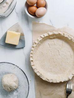 The Best Gluten-Free Buttermilk Pie Recipe! How to Make Homemade Pie Crust— The Effortless Chic