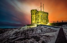 Golden Cabot Tower Art Print by Gord Follett. All prints are professionally printed, packaged, and shipped within 3 - 4 business days. Cabot Tower, Tower Design, Newfoundland And Labrador, Art Sites, Art Prints For Sale, Beautiful Islands, Great Artists, Fine Art America, Pictures