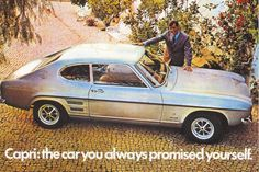 ford capri - siiiiiiigh. My heart skips a beat whenever I see this beauty