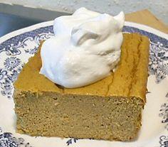 Low Carb Pumpkin Bake