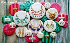 Love Bug Cakes and Cookies Jewelry cookies