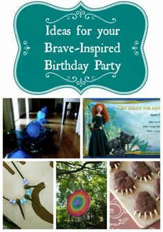 A Disney Brave Party Theme for Your Merida with Cake Ideas | Babble