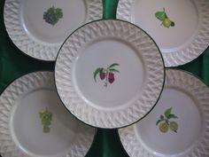 fruits de saison Fragile, Creations, Plates, Tableware, Kitchen, Seasonal Fruits, Licence Plates, Dishes, Dinnerware