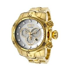 b6505049cc2 Relógio Invicta Men s INVICTA-14505 Venom Analog Display Swiss Quartz Gold  Watch  Relogios  Invicta