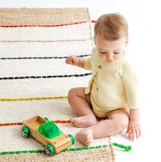 Conjunto de punto para bebés con estilo. Algodón 100%. #ranita #chaqueta #bebe #modainfantil #baby
