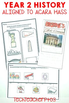 If you want to save time on your History planning, then this thorough pack will provide you with all the resources you need to teach Year 2 HASS with ease. Closely aligned to the ACARA knowledge and Understanding, each activity has been differentiated to make planning for your students so much easier. #techteacherpto3 Primary School Teacher, My Teacher, Teaching History, Teaching Resources, Unit Plan, Australian Curriculum, Year 2, Social Science, Social Studies