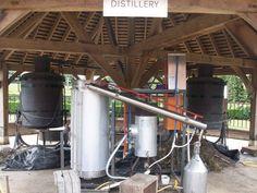 Norfolk Lavender distillation unit. Image courtesy of IFPA Member Emi Bellamy