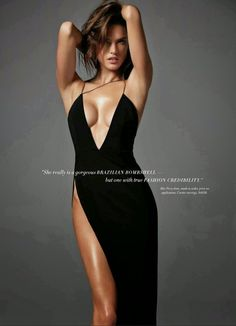 Alessandra Ambrosio: Harpers Bazaar Australia 2014 -06  Beautiful I would only be able to wear this dress for my hubby.