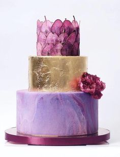 Russian Confectioners Make Elegant Cakes That Look More Like They Came Out Of A Fairy Tale Toddler Birthday Cakes, Cardamom Cake, Boho Cake, Geometric Cake, Deer Cakes, Blackberry Cake, Lavender Cake, Cactus Cake, Impressive Desserts