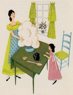 Early American Recipes: Traditional Recipes from New England Kitchens by Heloise Frost, illustrated by Barbara Corrigan (1953)
