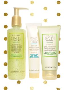 Set Navidad: Set Satin Hands - Mary Kay