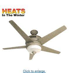 Superb Reiker Ceiling Fan/Heater Combo   On Sale
