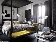 very cool bedroom