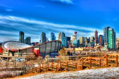 Hdr Photography, Calgary, San Francisco Skyline, Explore, Travel, Viajes, Exploring, Trips, Tourism