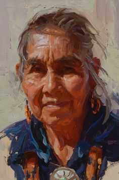"""Great Grandmother - Navajo"" by Scott Burdick"