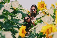 Sunflowers girls