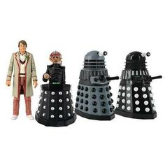 daleks and doctor who action figures